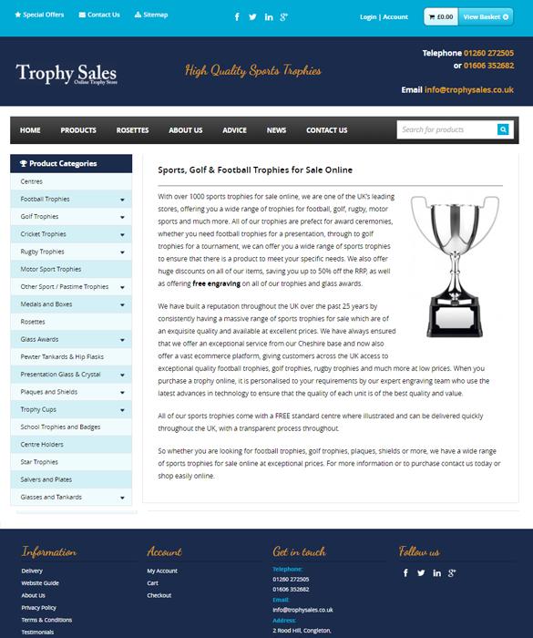 Trophy Sales Portfolio