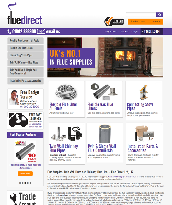 Flue Direct Gallery