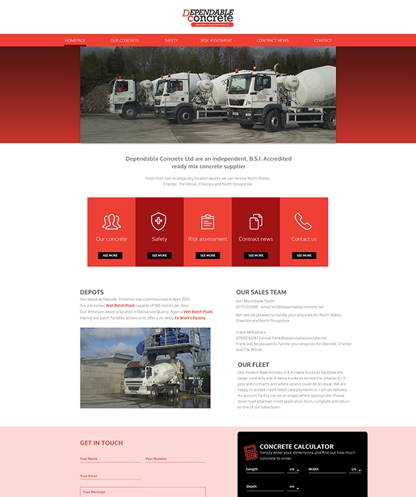 Dependable Concrete Ltd Portfolio