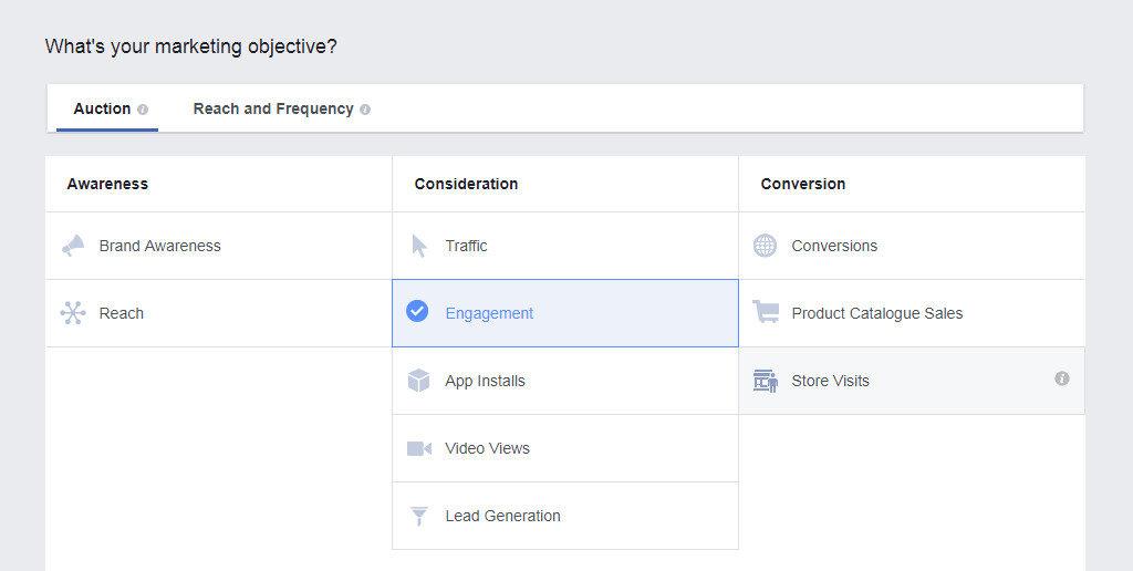 facebook-objective